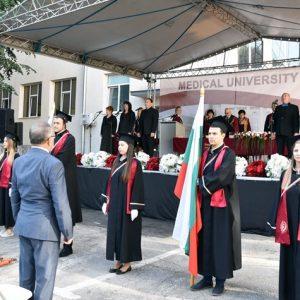 460 студенти-първокурсници посрещнаха днес в Медицински университет – Плевен