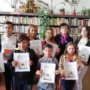 В село Асеновци отличиха участниците в онлайн конкурси
