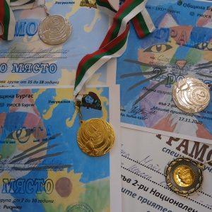 """Деца от арт школа """"Колорит"""" са победители в конкурса """"Моите приятели-животните"""" в Бургас"""