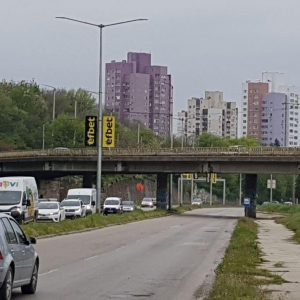 """Започва основна реконструкция на пътния надлез към жк """"Сторгозия"""""""