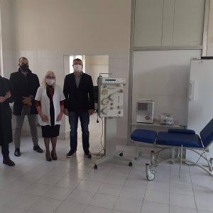 Основната част от апаратурата за кръвна плазма в Плевен вече е доставена, акцията на ротарианците продължава до края на декември