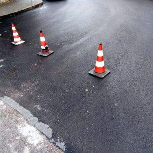 Продължават текущите ремонти по пътните настилки в Плевен
