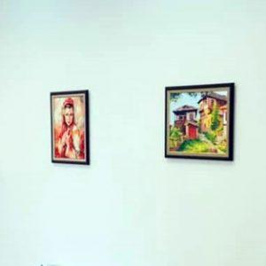 Творби на малки художници от община Кнежа красят общински сгради