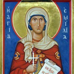 30 май – чества се денят на света Емилия