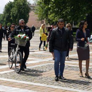 В град Левски почетоха паметта на Христо Ботев и загиналите за свободата на България