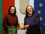 Нидал Алгафари представи в Левски, роднияград на своята майка, новия си роман и творчество