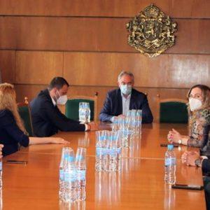 Общо сътрудничество обсъдиха младежи от Представителството на студентските съвети с кмета Георг Спартански