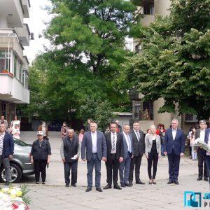 Плевенчани отдадоха почит на Ботев и на загиналите за свободата на България /фотогалерия/